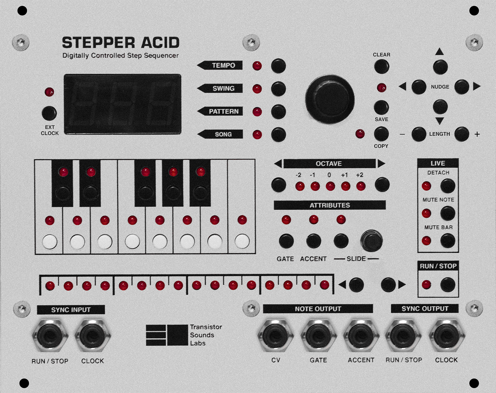 Stepper Acid Front Panel Flat